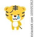 호랑이 [등신의 동물 시리즈] 10005362