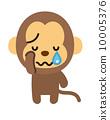 원숭이 [등신의 동물 시리즈] 10005376