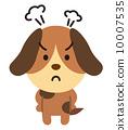 動物キャラクター 10007535