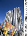 背景 特点 城市建筑 10032909