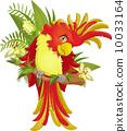 金刚鹦鹉 鹦鹉 矢量 10033164