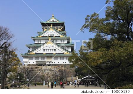 Osaka castle tower 10060189