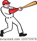 擊球手 選手 美國 10070978