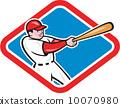 擊球 擊球手 棒球棒 10070980