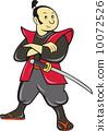 日本武士 剑 武士 10072526