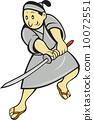 日本武士 剑 武士 10072551