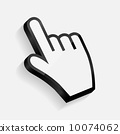 Mouse hand cursor vector illustration 10074062