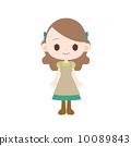 女孩 較年輕 兒童 10089843