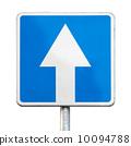 道路 单向 签字 10094788