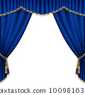 curtain, theater, stage 10098163