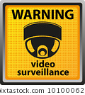 warning, surveillance, security 10100062