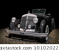 Vintage black car 10102022