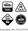 出租車 汽車 車 10111706