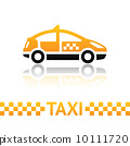 template blank taxi 10111720