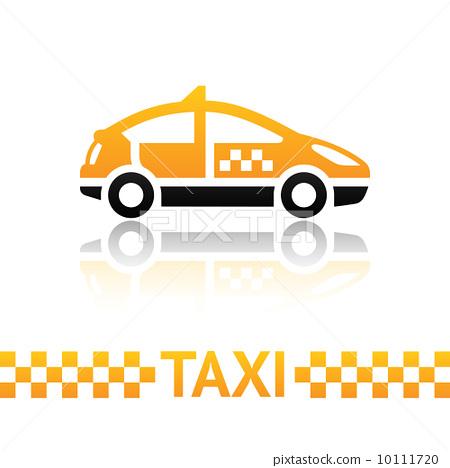 Taxi cab symbol 10111720