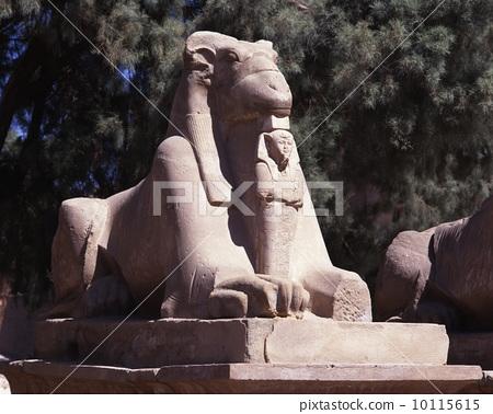 Sphinx of the Temple of Karnak 10115615