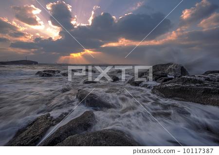 황혼의 바다 10117387