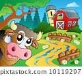 farm, theme, head 10119297