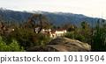 winter, panoramic, ojai 10119504