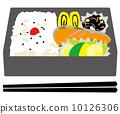 日式便当 日本料理 日式煎蛋 10126306