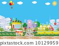 城市風光 城市景觀 市容 10129959
