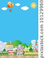 城市風光 城市景觀 市容 10129960