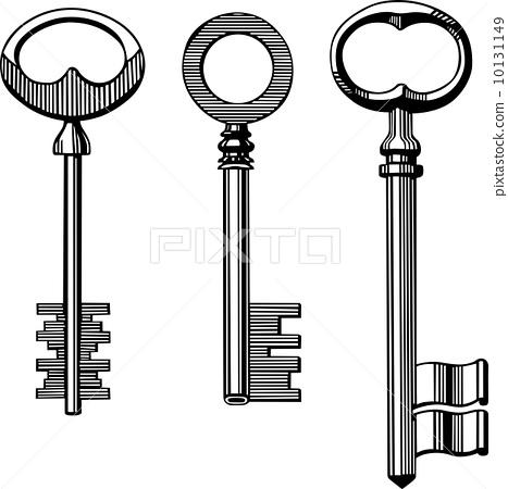 Vintage keys 10131149