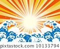 海 日本漁民大收穫的標誌 大收穫標誌 10133794