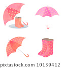 雨具 插圖 長筒靴 10139412