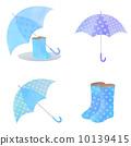雨具 插圖 長筒靴 10139415