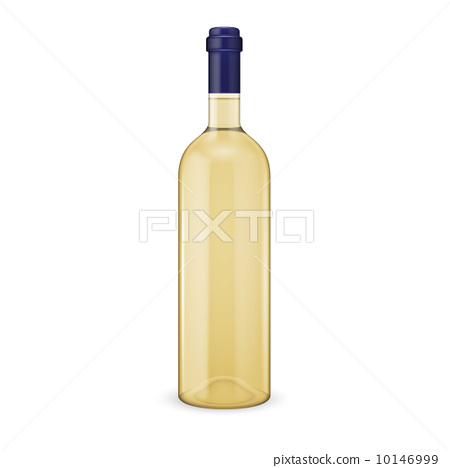 White wine bottle. 10146999
