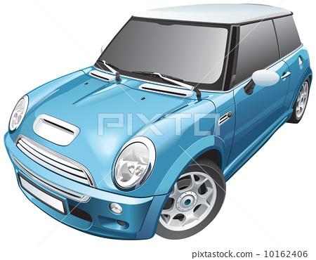 blue small car 10162406