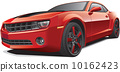 red muscle car 10162423