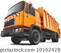 compact garbage truck 10162428