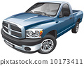 automobile, auto, pickup 10173411