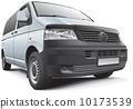 广告 厢式货车 多功能旅行车 10173539