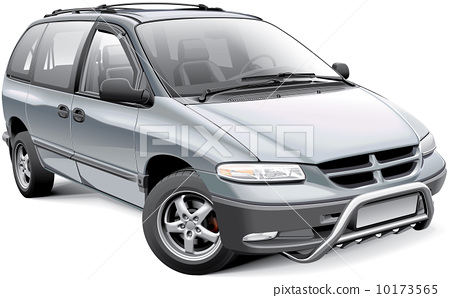 Minivan with roo bar 10173565