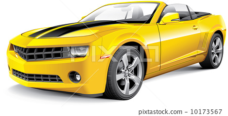 American muscle car convertible 10173567