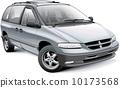 American family minivan 10173568