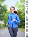 Happy woman runner healthy lifestyle 10176435