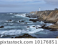 Pascific Ocean California Historic Point Arena Lighthouse Panorama 10176851