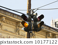 Old traffic lights historic Virginia City Nevada  10177122