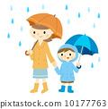 umbrella, brolly, rain 10177763