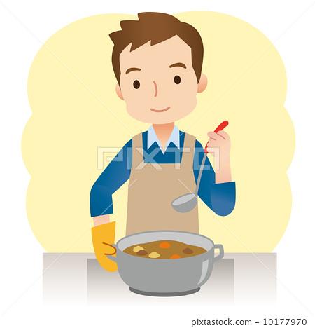 Men who cook 10177970