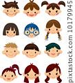 icon, cartoon, face 10179945
