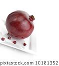 石榴 新鮮 紅色 10181352