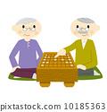 年长 将棋 男人们 10185363