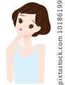 acne, female, lady 10186199