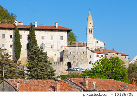 Village of Stanjel, Slovenia, Europe. 10186709