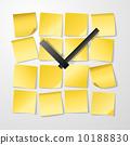symbol, message, clock 10188830